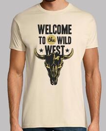 Camiseta Wild West Retro Western Vintage Oeste Cowboy