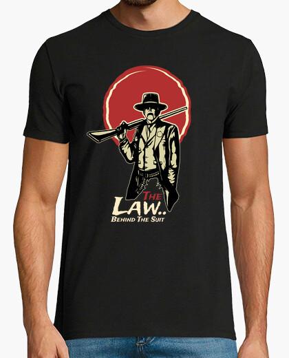 Camiseta Wild West Retro Western Vintage Western Pistolero The Law Cowboy