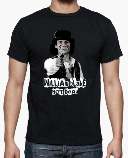Camiseta William Blake not dead