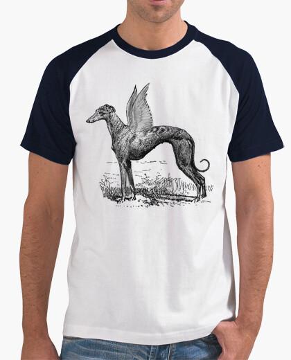 T-Shirt camiseta windhund göttlichen jungen