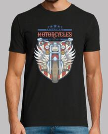 Camiseta Winged bike color