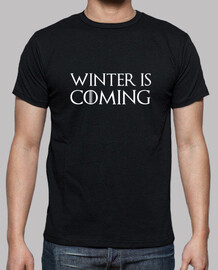camiseta winter is coming