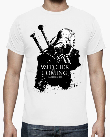 Camiseta Witcher Is Coming