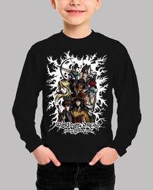 Camiseta WoD niño/a negra