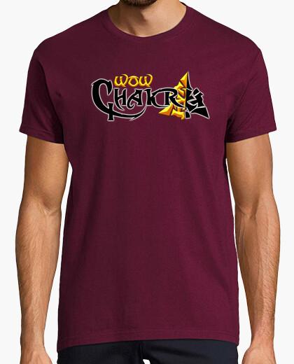 Camiseta WowChakra logo completo original
