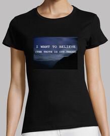 Camiseta X FILES Mujer