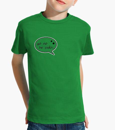 Ropa infantil Camiseta yo no fuí!