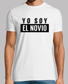 Camiseta yo soy el novio