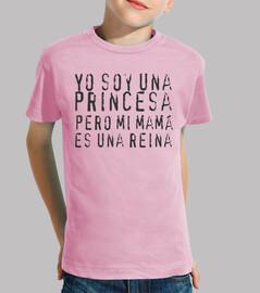 camiseta yo soy una princesa