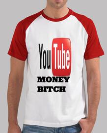 Camiseta Youtube Money Bitch   ElRubiusOMG  