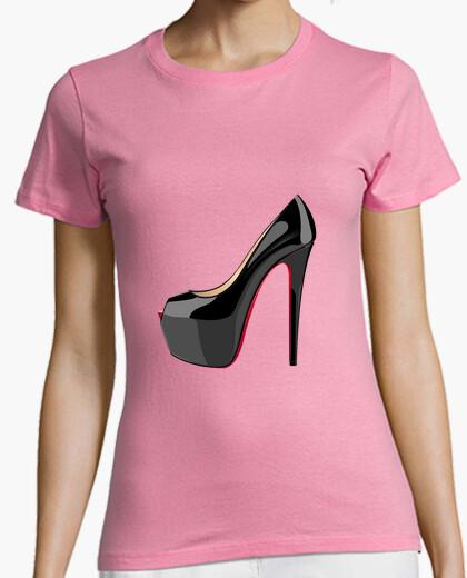 Camiseta Zapato tacón