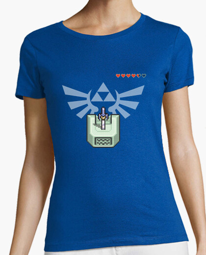 Camiseta Zelda - Triforce Master Sword