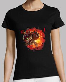 Camiseta Ziggs explosión (girl)