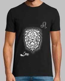 camiseta zodiaco signo león hombre astrología
