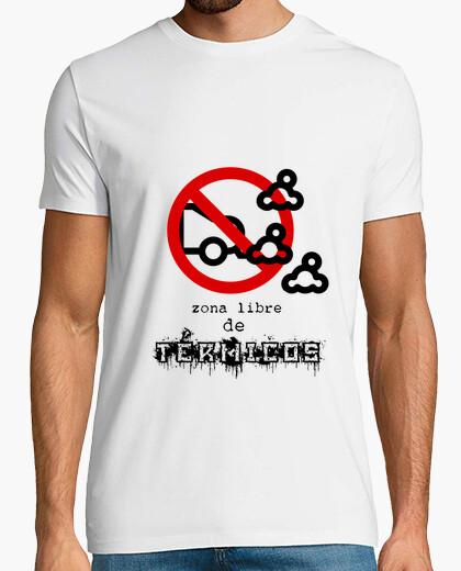 Camiseta zona libre de térmicos