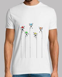 CamisetaH  AlpinistasColores