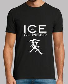 CamisetaH  IceClimbers   Piolets