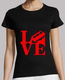 CamisetaLoveRojoM