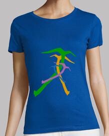 CamisetaM PioletsColors Azul