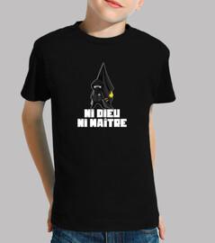 camisetas - ni dios ni amo