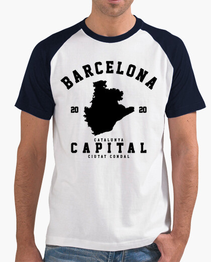 Camisetas Hombre - Barcelona - Diseño en...