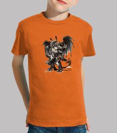 Camisetas niños Devil