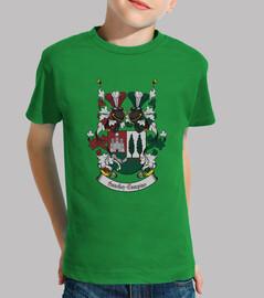 Camisetas niños Escudo Familia Sanchez-Campins