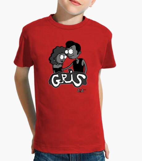 Camisetas niños Gris - Niño