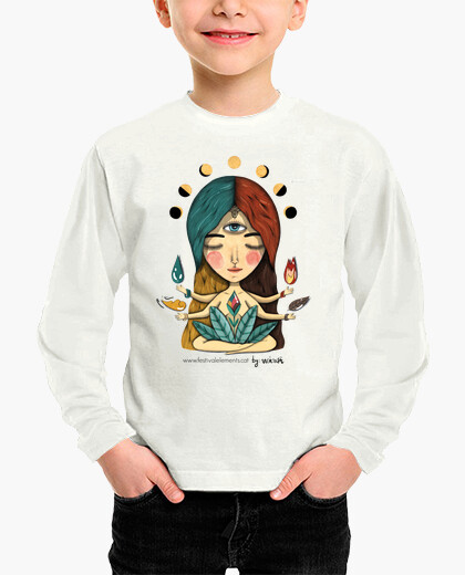 Camisetas niños Nen, nena màniga llarga
