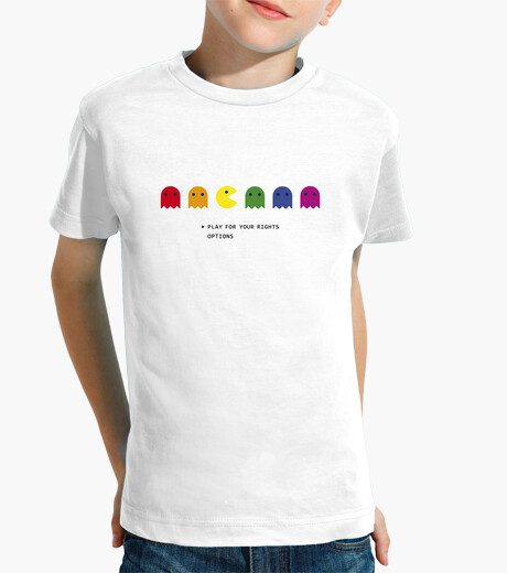 Camisetas niños PLAY FOR YOUR RIGHTS