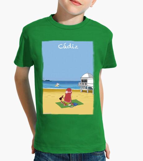 Camisetas niños Playa de la Caleta by...