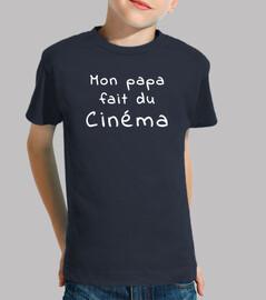 camisetas, padre hace películas
