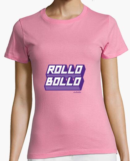 Camisetas para lesbianas: Rollo bollo