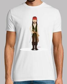 Camitas Jack Sparrow (Hombre)