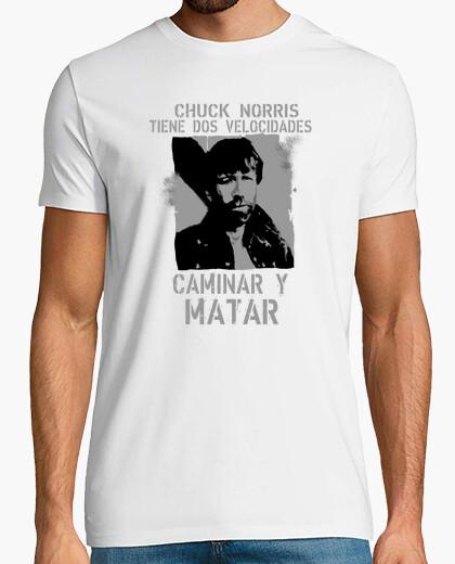 T-shirt camminare e uccidere