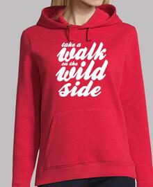 camminare sul side wild bianco