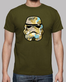 Camo stormtrooper graffiti de casque