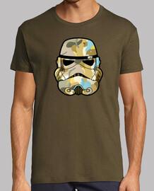camo stormtrooper helmet graffiti