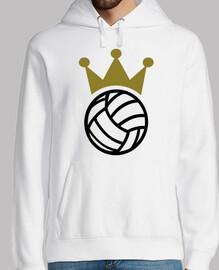 campeón corona de voleibol