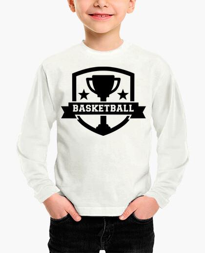 Ropa infantil campeón de baloncesto