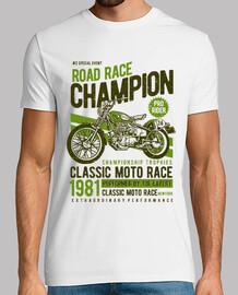 campeón de carrera de carretera