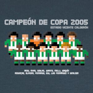 Tee-shirts Campeón de Copa 2005