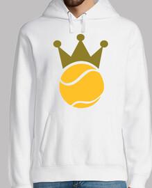 campeón de la corona de tenis