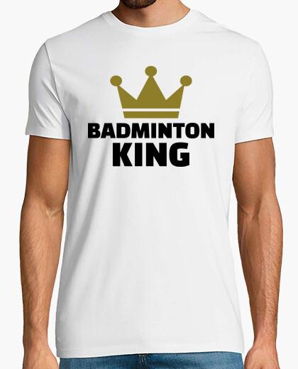 Camiseta campeón del rey de bádminton