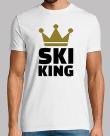 campeón del rey de esquí