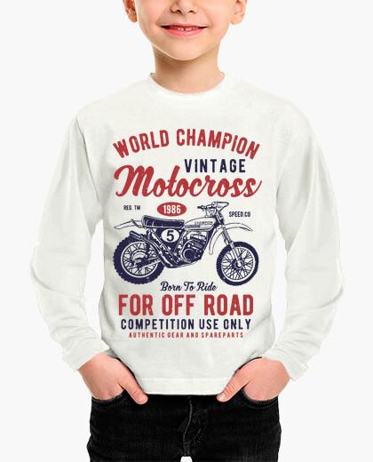 Ropa infantil campeón mundial de motocross