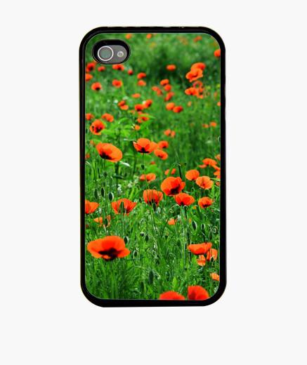 Funda iPhone campo de amapolas iphone 4