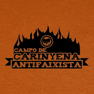 Tee-shirts Campo de Carinyena Antifaixista