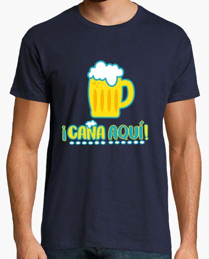 Camiseta ¡Caña aquí!