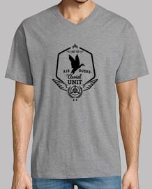 canards d'air lindy hop - aérienne - noir